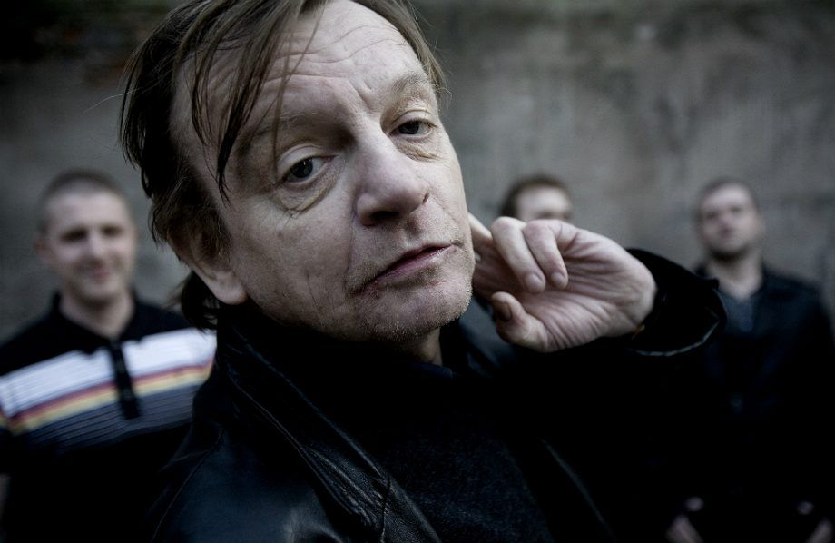 Music] R I P  Mark E  Smith, frontman of The Fall has died